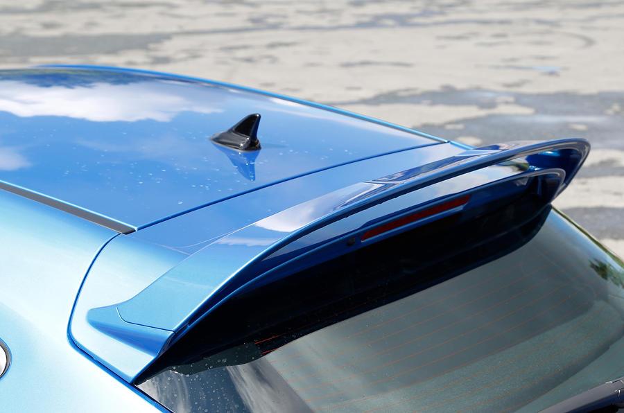 Vauxhall GTC VXR roof spoiler