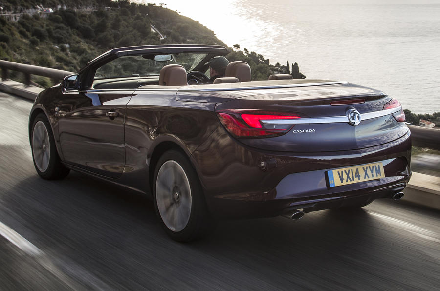 Vauxhall Cascada Elite 1.6i first drive review