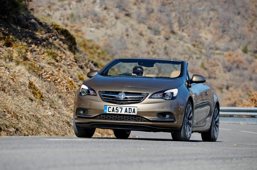 Vauxhall Cascada cornering