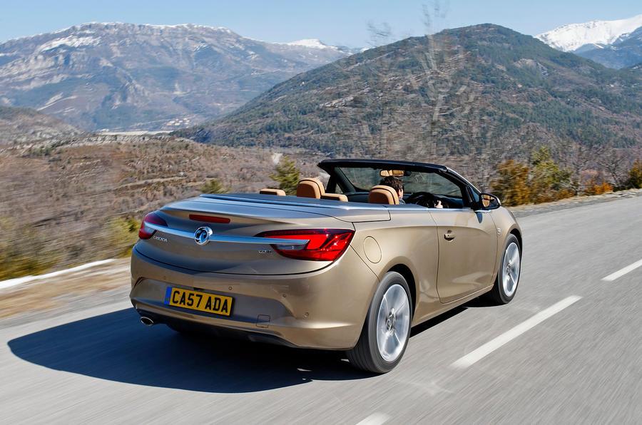 Vauxhall Cascada rear