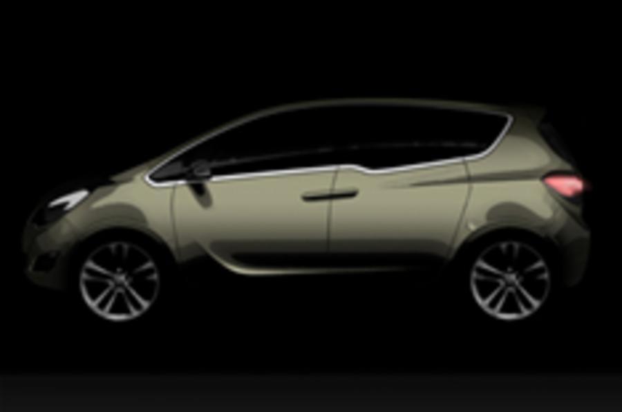 Vauxhall Meriva concept revealed