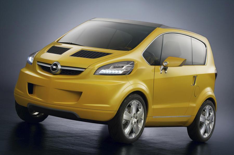 Vauxhall city car based on Trixx