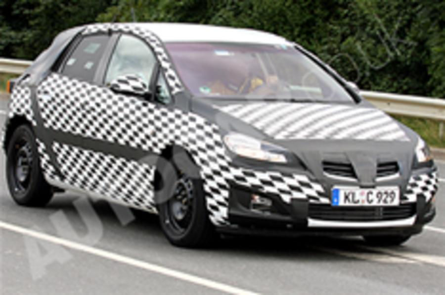 Spied: Next Vauxhall Astra