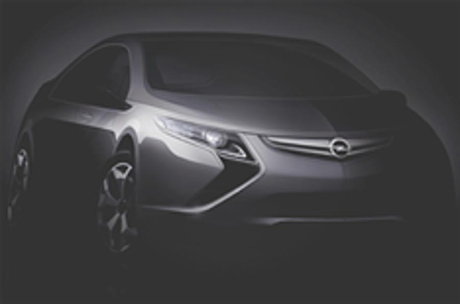 Vauxhall's Ampera revealed