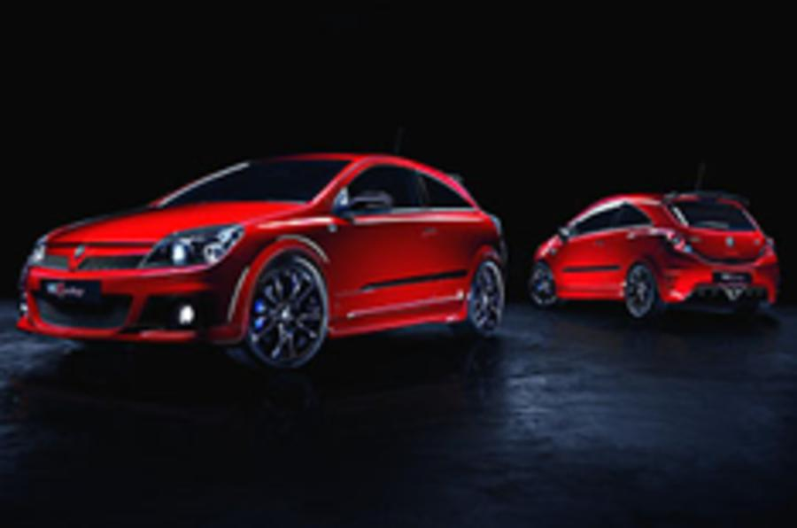Vauxhall reveals limited-run VXRs