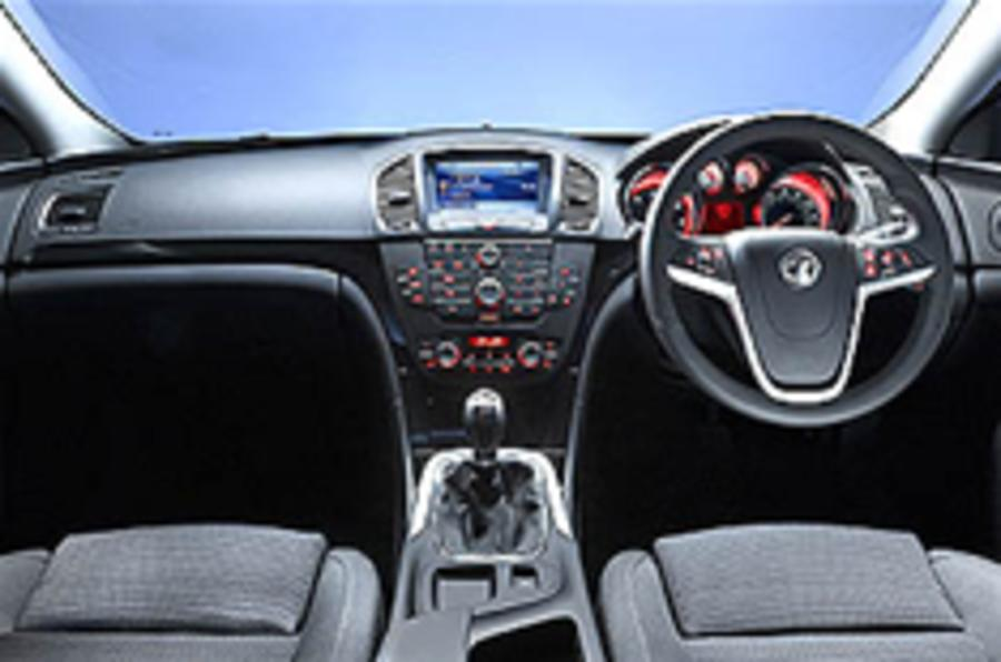 See inside the Vauxhall Insignia