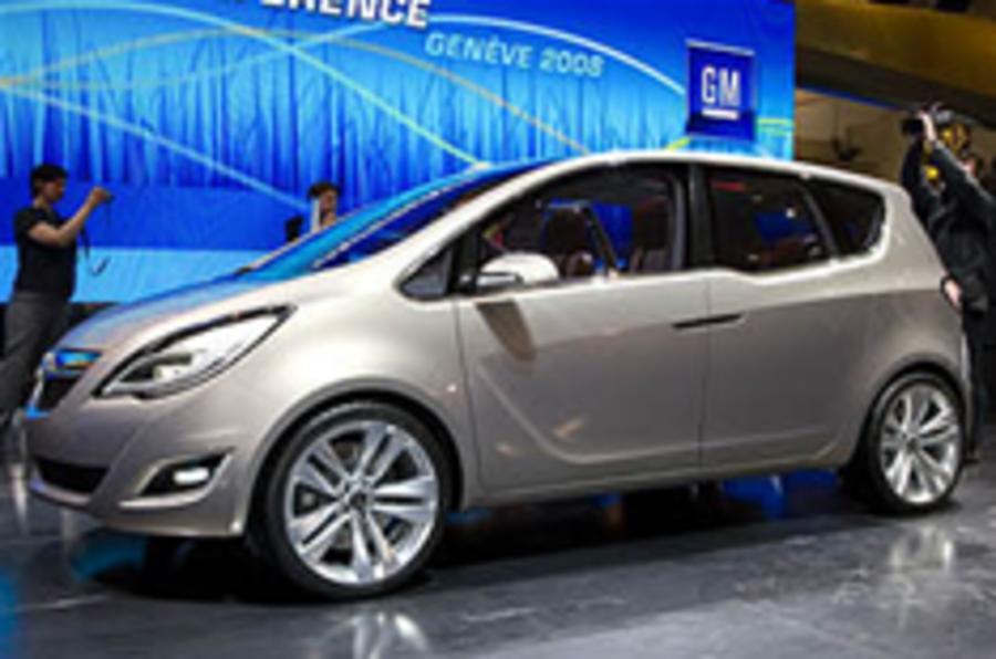 Geneva 2008: Vauxhall Meriva