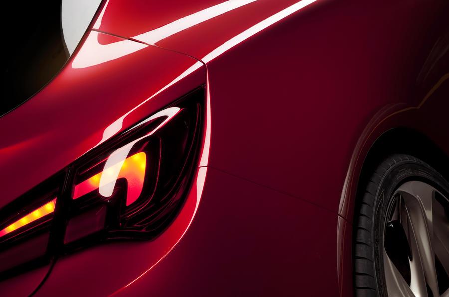 Paris motor show: Vauxhall Astra GTC