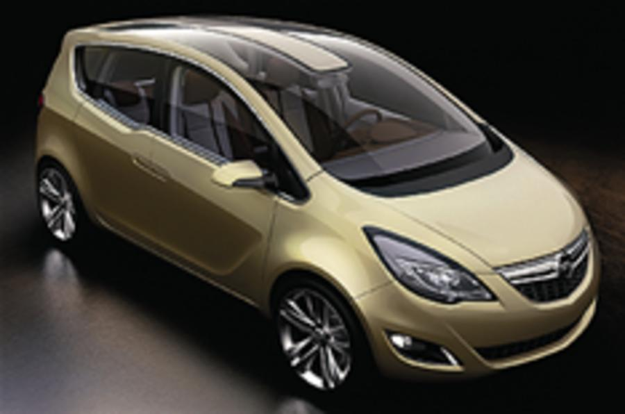 More flexibility for new Meriva