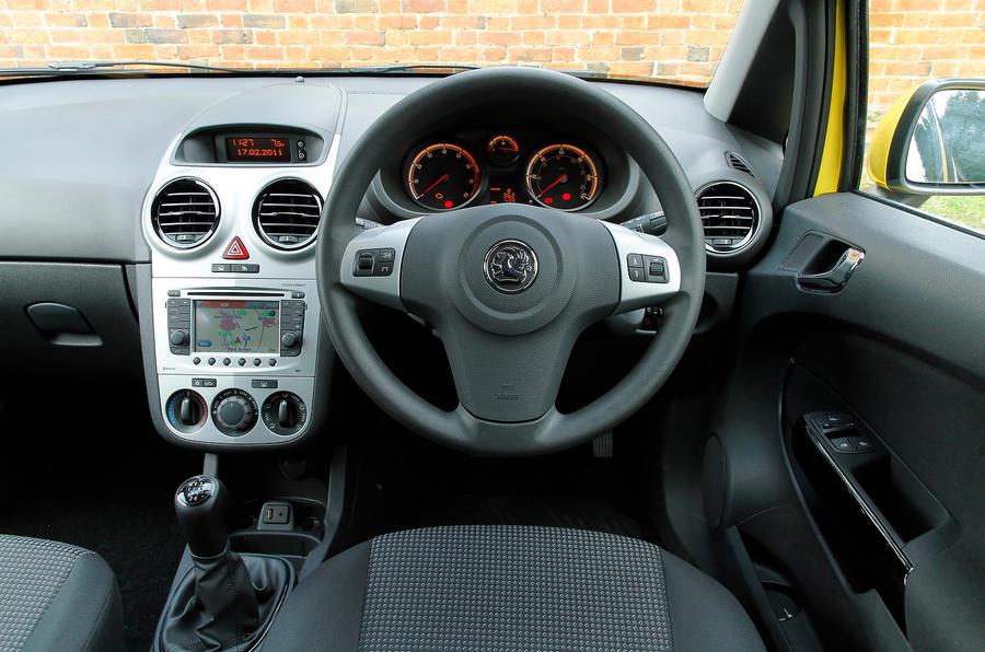 Vauxhall Corsa dashboard