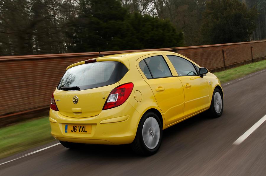 Vauxhall Corsa rear quarter