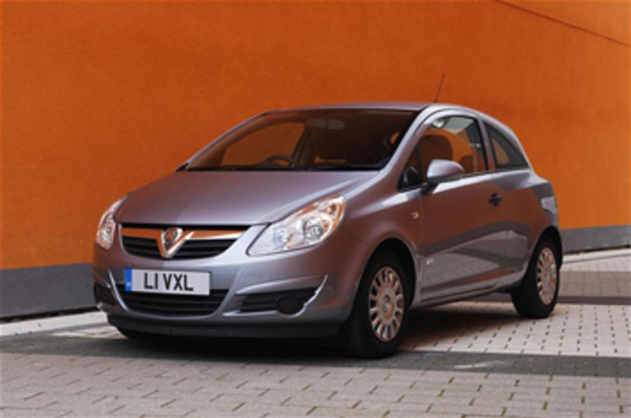 Vauxhall cuts its entry prices