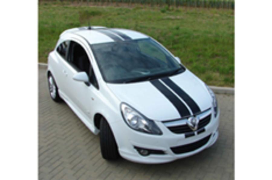 Vauxhall's Corsa sports kits
