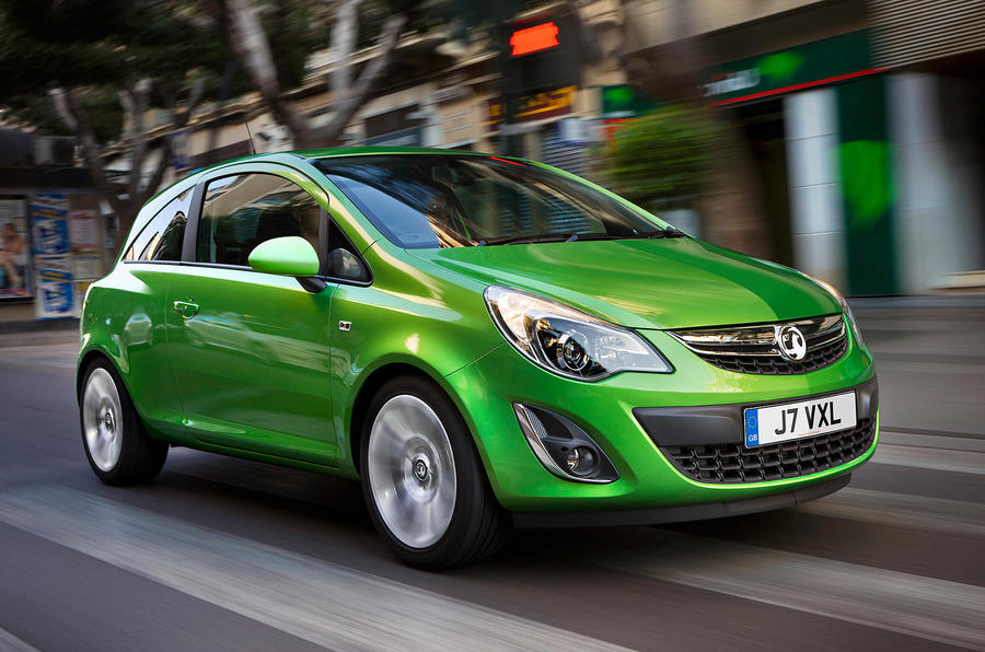 Vauxhall Corsa facelift revealed