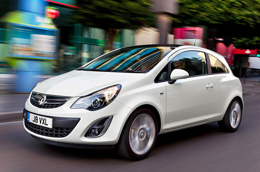 Vauxhall Corsa facelift revealed
