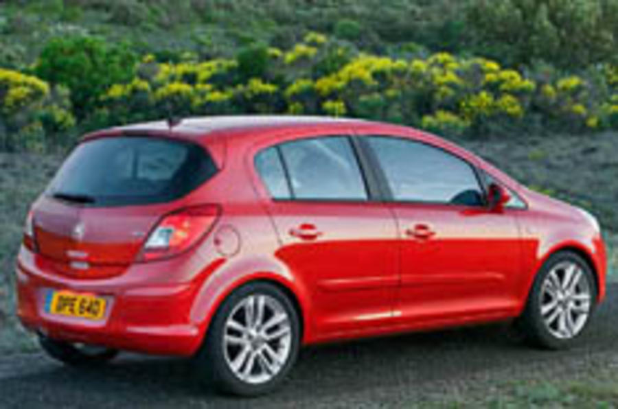 The five-door Corsa