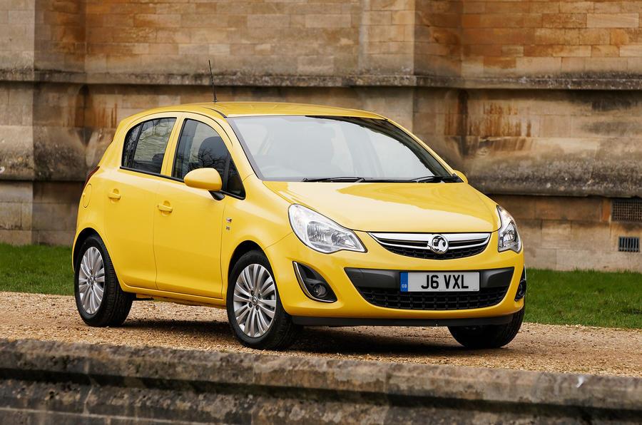4 star Vauxhall Corsa