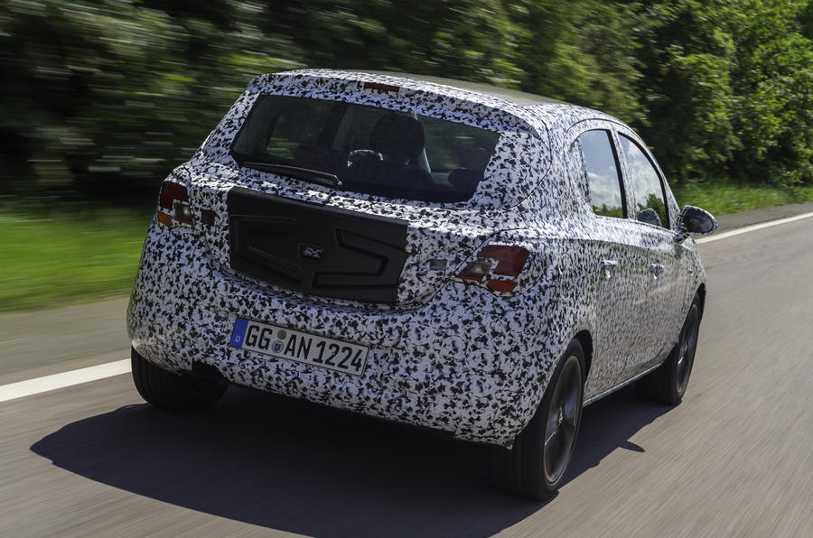 Next Vauxhall Corsa development secrets revealed