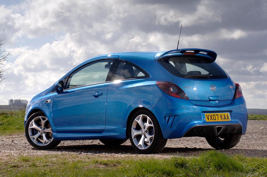 Vauxhall Corsa VXR rear