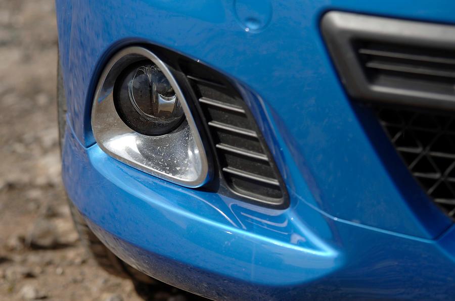 Vauxhall Corsa VXR foglight