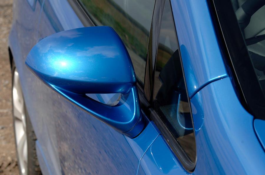 Vauxhall Corsa VXR wing mirror
