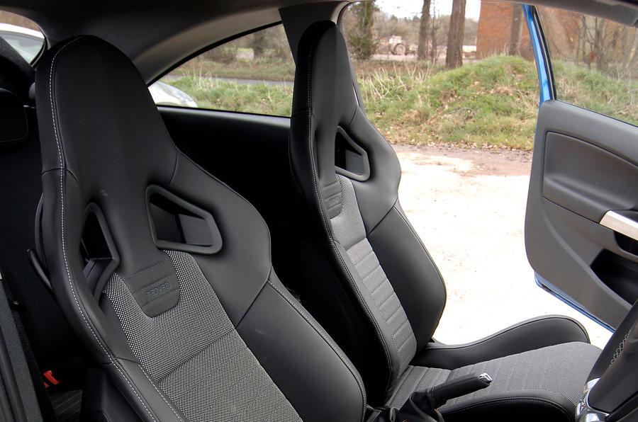 Vauxhall Corsa VXR Recaro seats