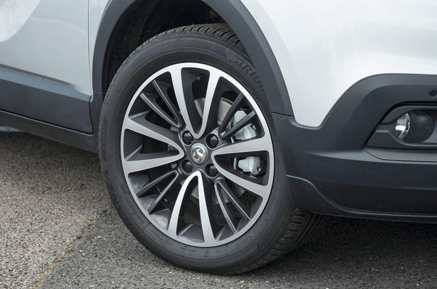 Vauxhall Crossland X alloy wheels