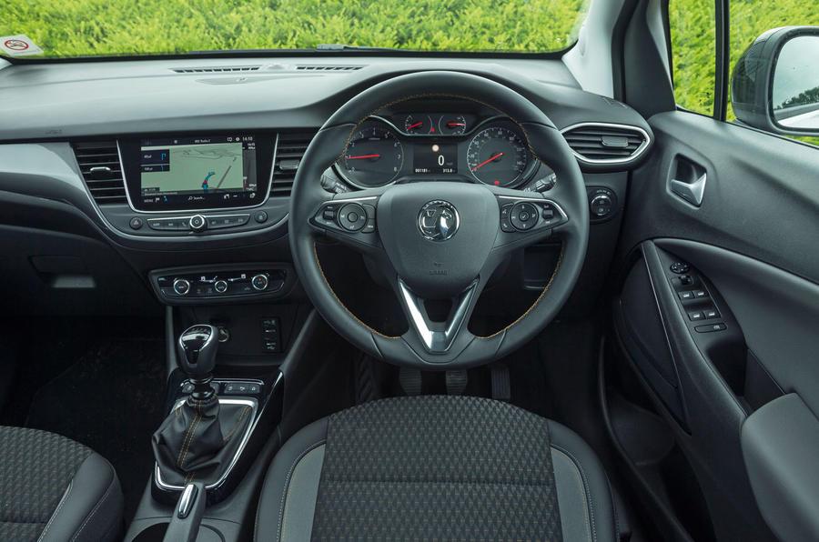 First Time Driver >> Vauxhall Crossland X interior | Autocar