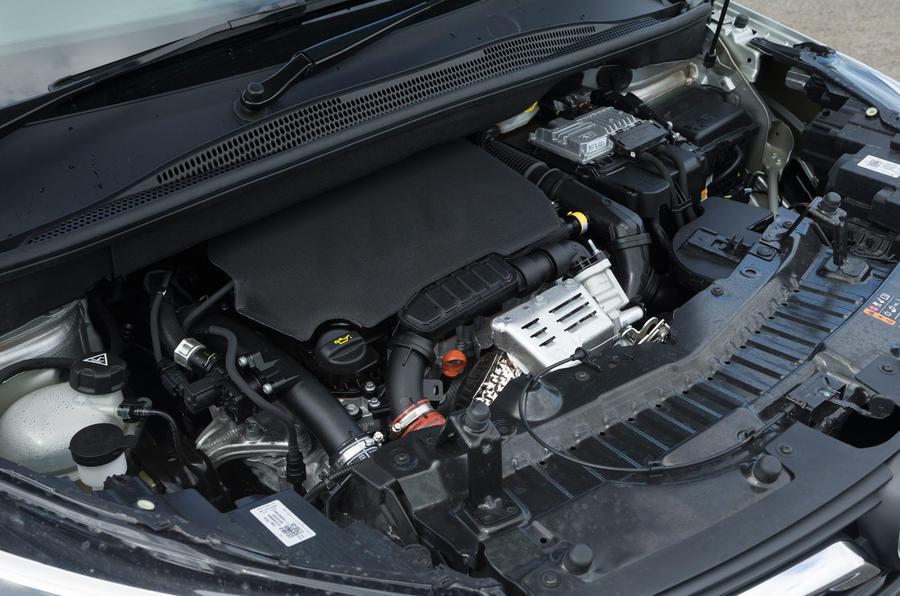1.2-litre Vauxhall Crossland X engine