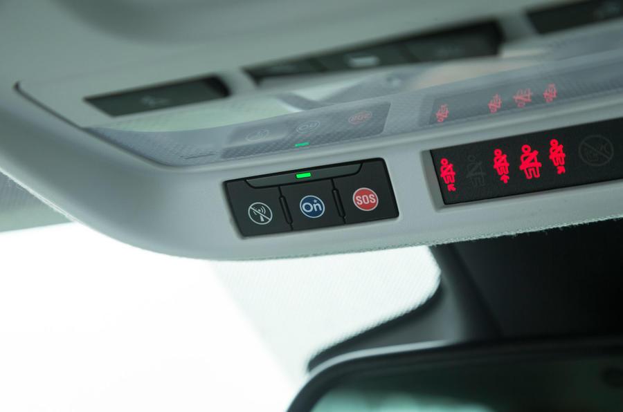Vauxhall Crossland X OnStar system