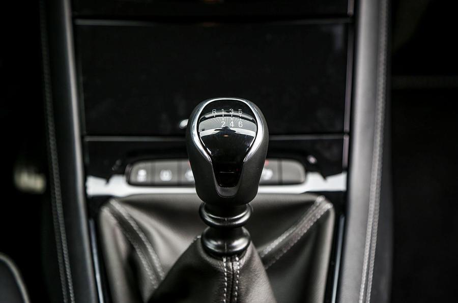 Vauxhall Grandland X manual gearbox