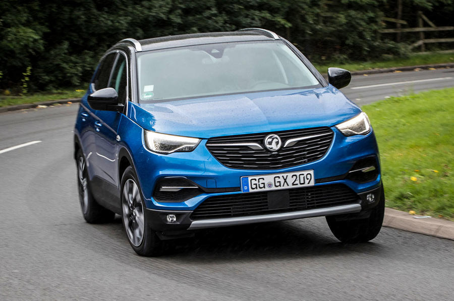 vauxhall grandland x review 2019 autocar. Black Bedroom Furniture Sets. Home Design Ideas