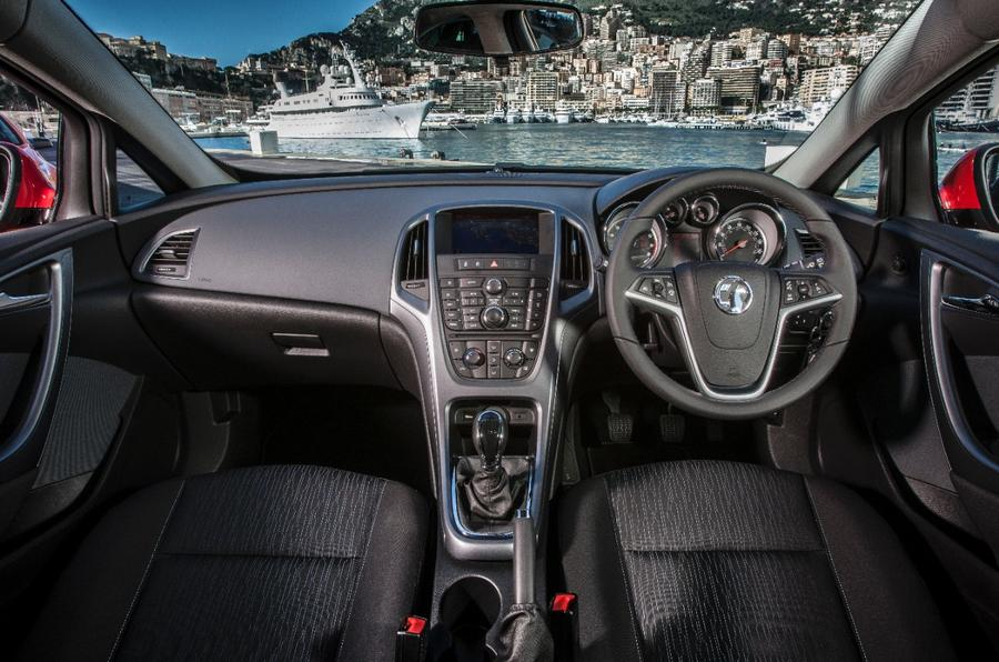 Vauxhall GTC dashboard