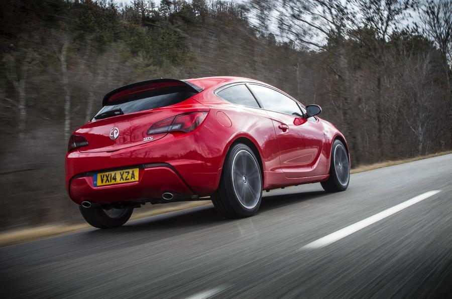 Vauxhall GTC rear