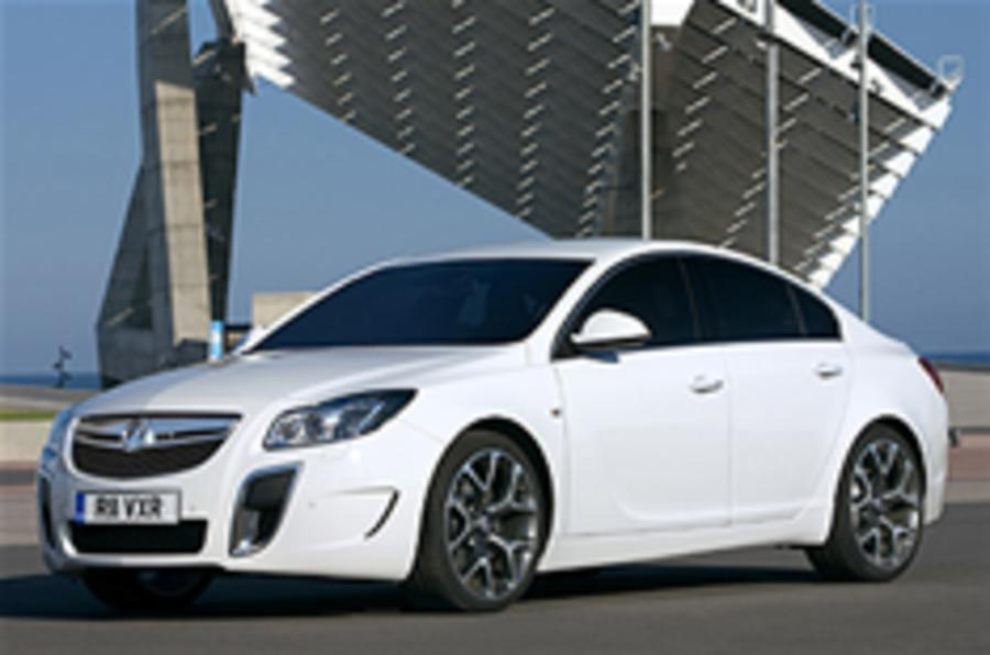 Vauxhall Insignia VXR revealed
