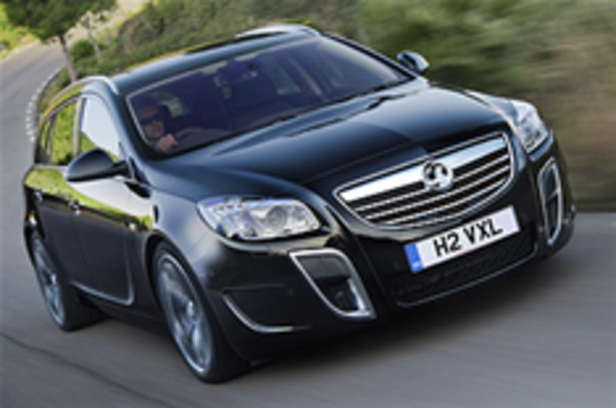 Insignia VXR estate revealed