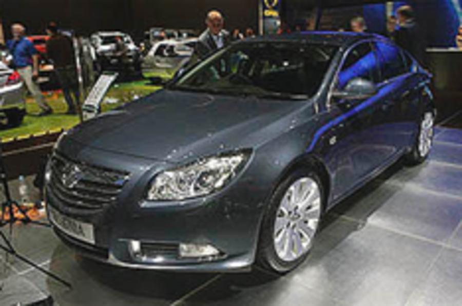 London show: Vauxhall Insignia