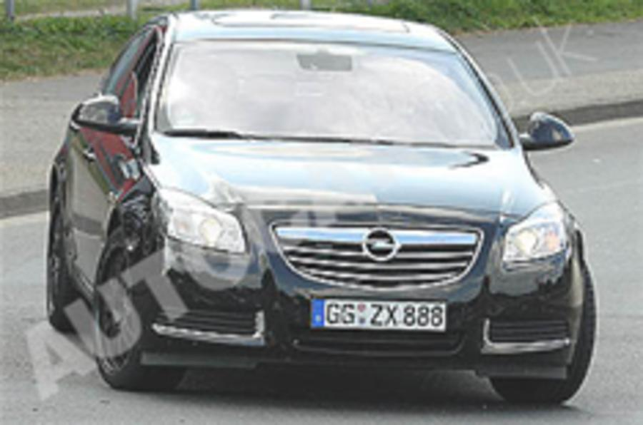 Vauxhall Insignia VXR spotted