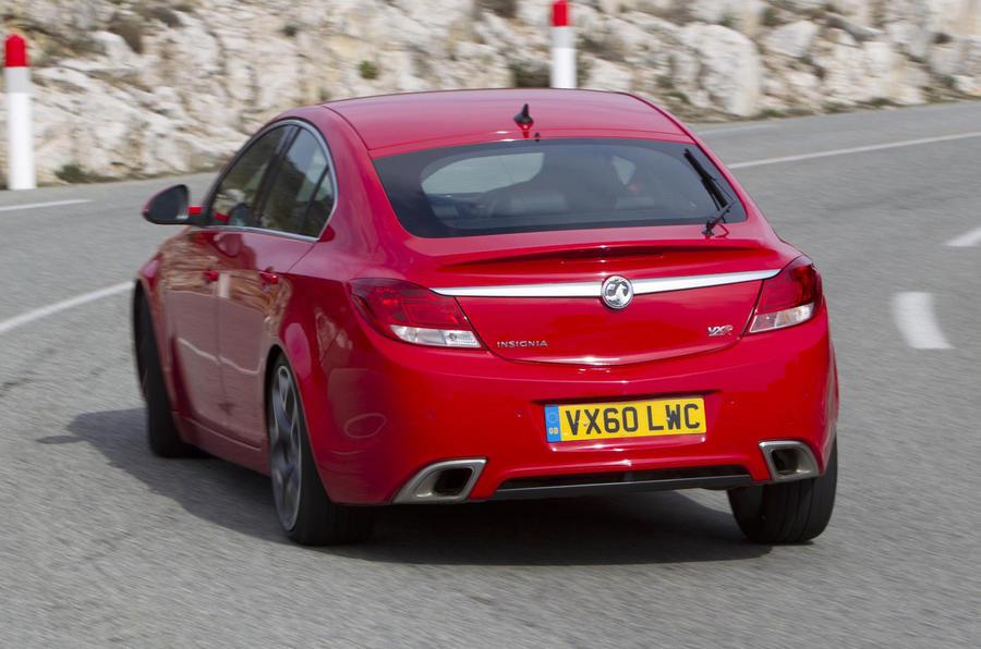 Insignia VXR gets 170mph top speed