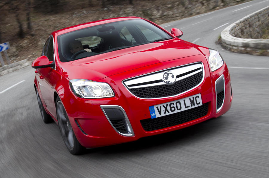 Insignia VXR gets 170mph top speed