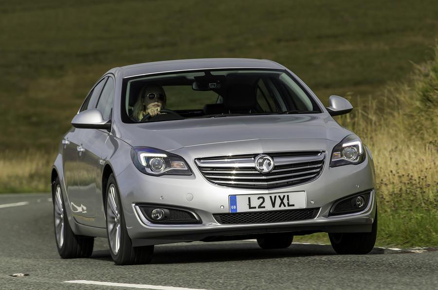 Vauxhall Insignia cornering