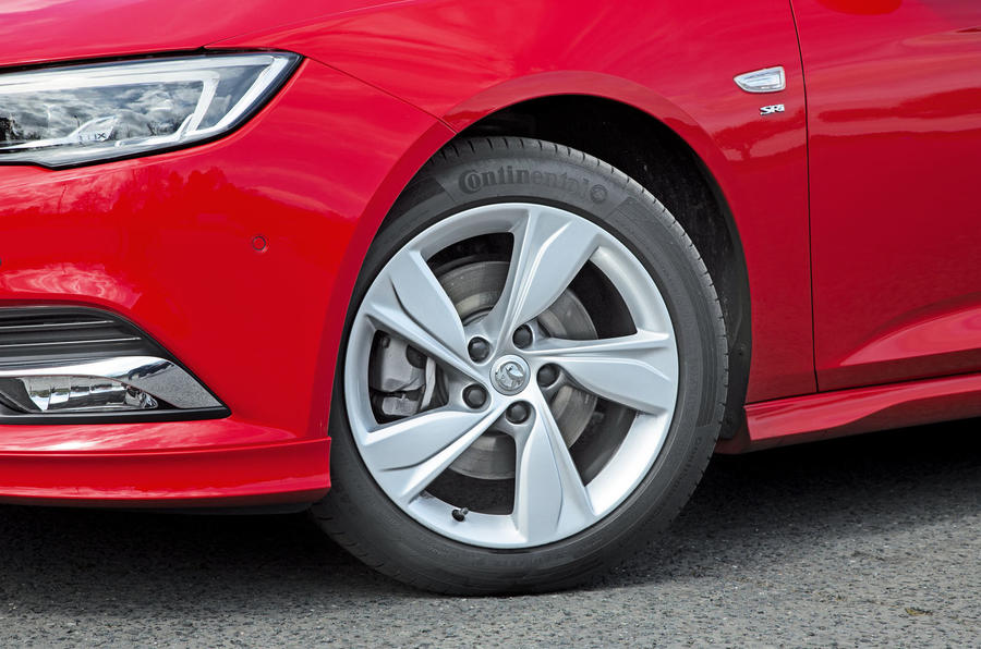 Vauxhall Insignia Grand Sport alloy wheels