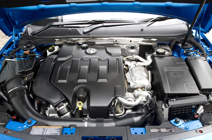 2.0-litre Vauxhall Insignia VXR engine