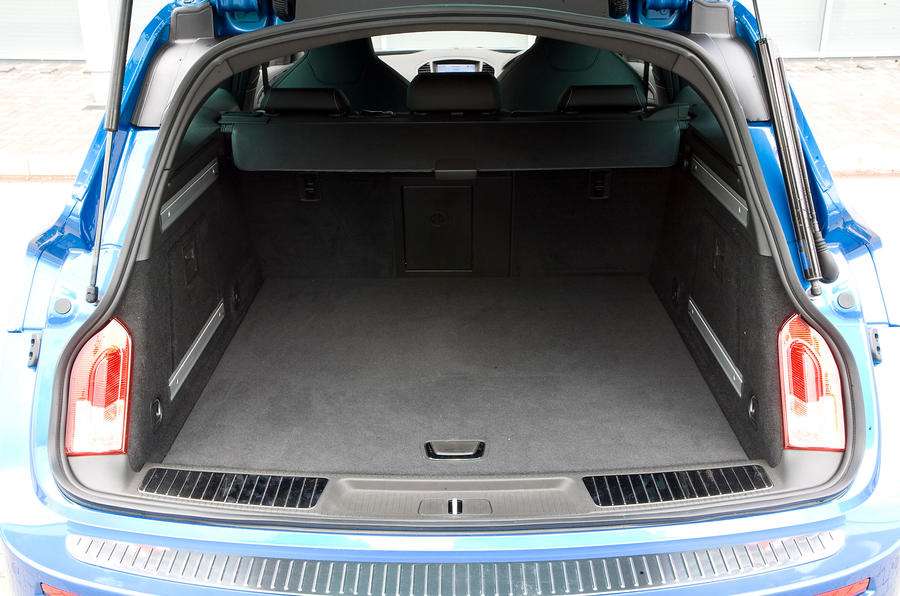 Vauxhall Insignia VXR estate boot space