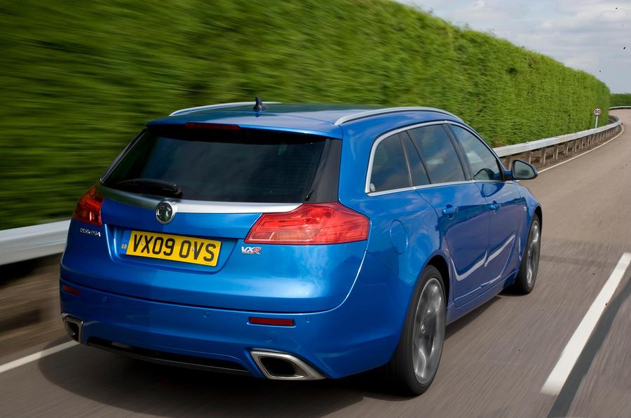 Vauxhall Insignia VXR estate rear