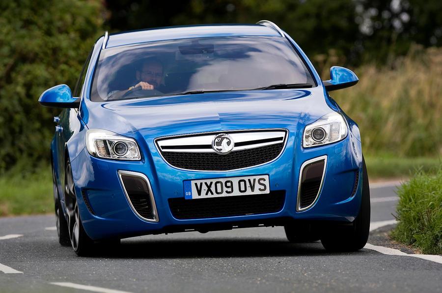 Vauxhall Insignia VXR cornering