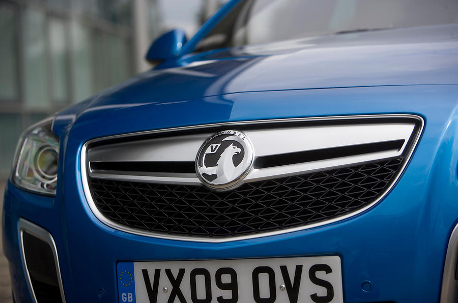 Vauxhall Insignia VXR front grille