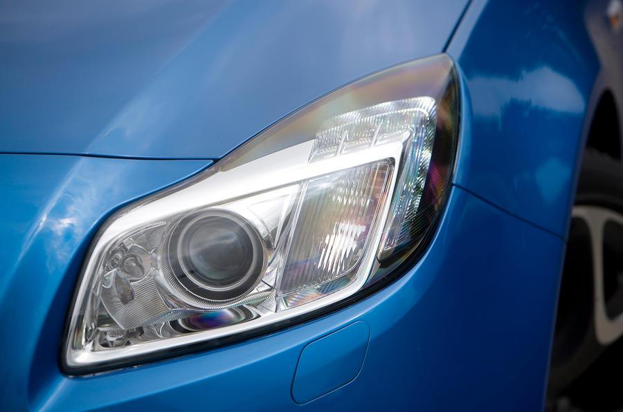 Vauxhall Insignia VXR xenon headlight