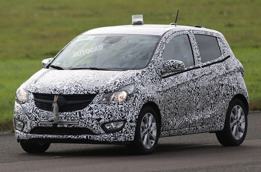 Vauxhall prepares new Viva city car for Geneva motor show debut