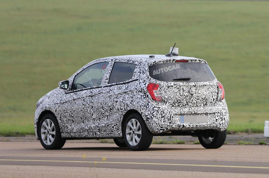 Vauxhall prepares new Viva city car for its Geneva motor show debut